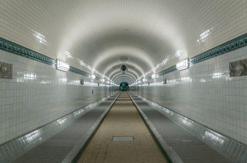 Старый тоннель под Эльбой, Гамбург
