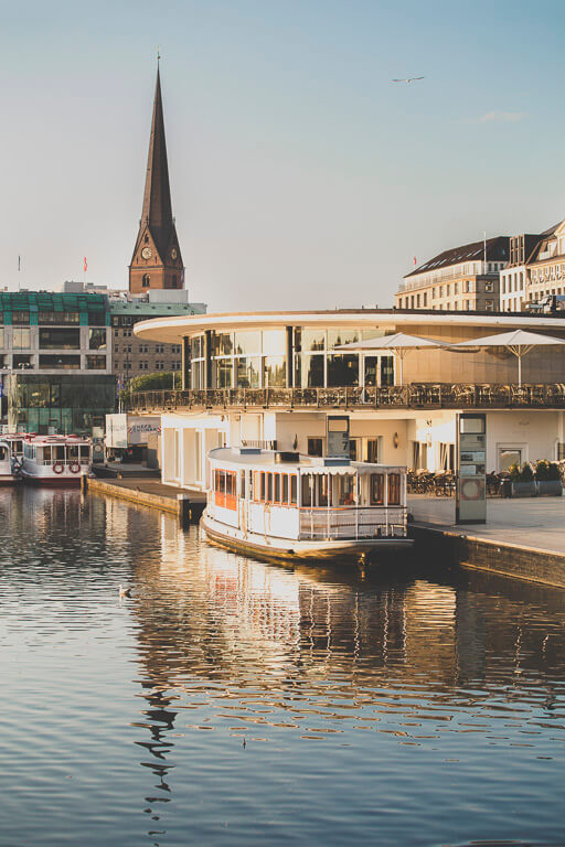 Павильон на Альстере, Гамбург