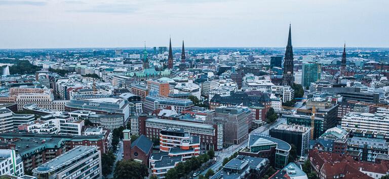 Панорама Гамбурга