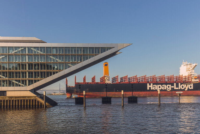 Смотровая площадка докланд Гамбург