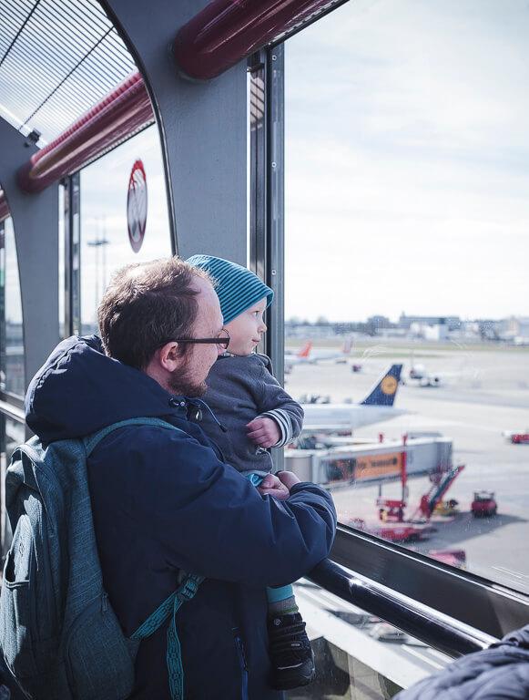Смотровая площадка в аэропорту Гамбурга