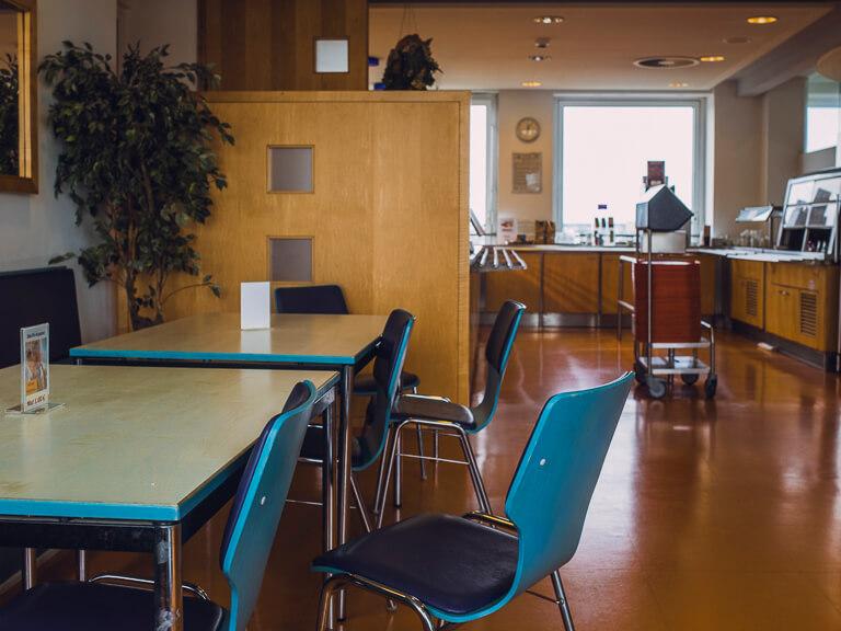 Кафе на 12 этаже районного управления, Гамбург