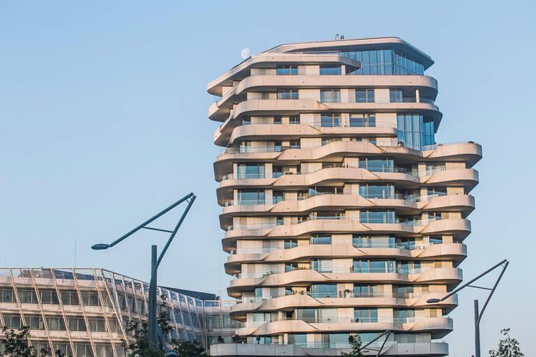 Башня Марко Поло в ХафенСити, Гамбург