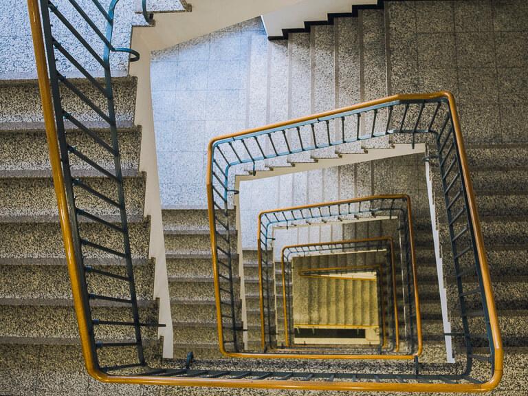Лестница в Паульзенхаус, Гамбург