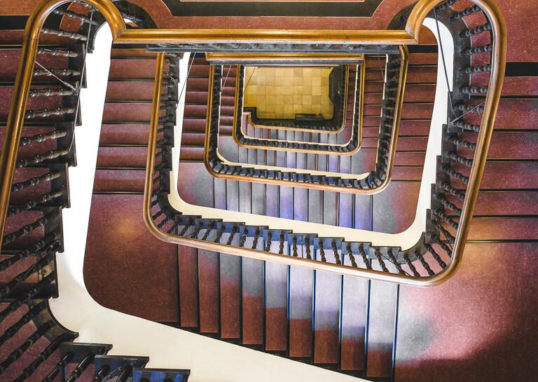 Лестница в Сломанхаус, Гамбург