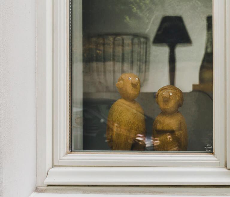 Окно в Треппенфиртеле, Бланкенезе, Гамбург