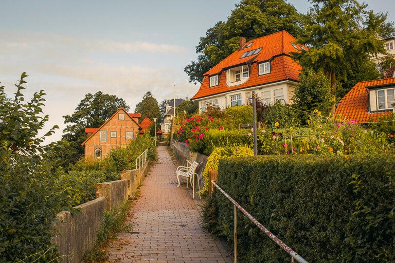 Эльбская терраса в Треппенфиртеле, Бланкенезе, Гамбург