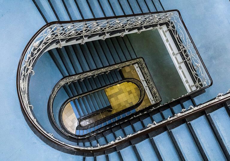 Лестница в Лайешхофе, Гамбург