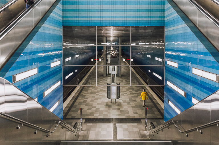 Станция метро Überseequartier, Гамбург
