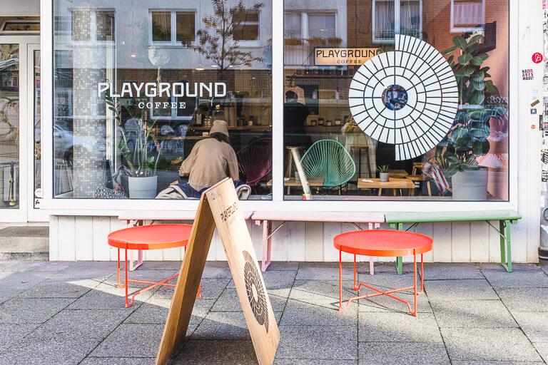 Кафе Playground, Гамбург